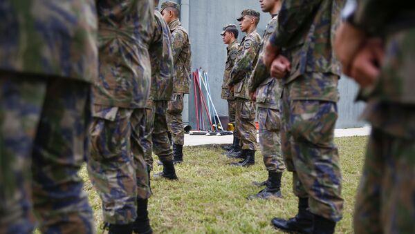 Militares brasileños - Sputnik Mundo