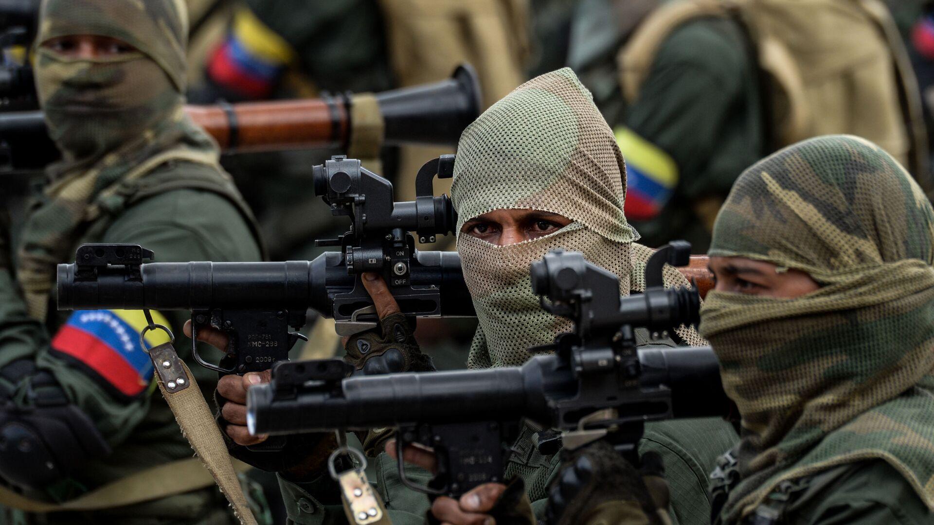Militares venezolanos - Sputnik Mundo, 1920, 15.05.2021