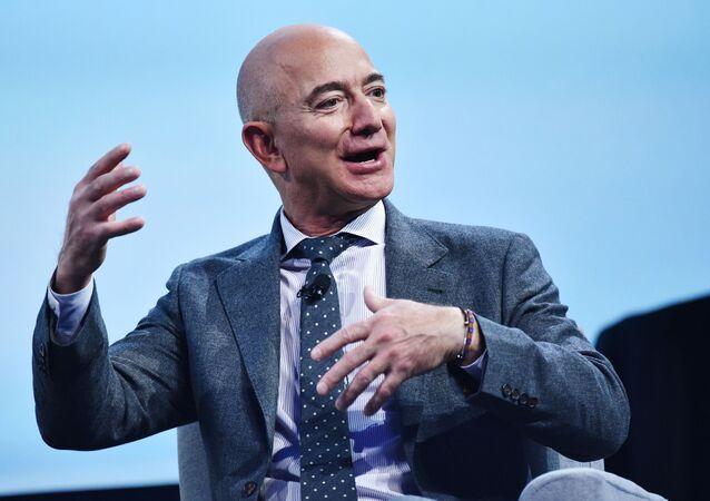 Jeff Bezos, empresario estadounidense