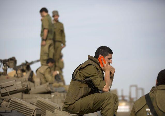 Un soldado israelí (imagen referencial)