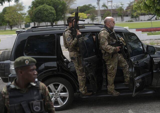 Policía federal de Brasil (archivo)