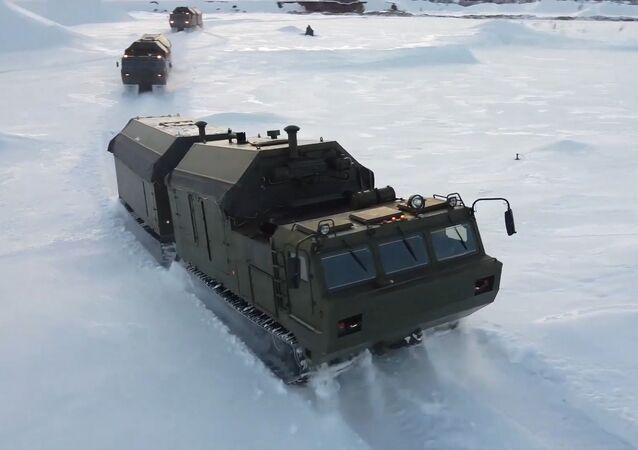 Así son las cocinas de campaña capaces de operar en el Ártico