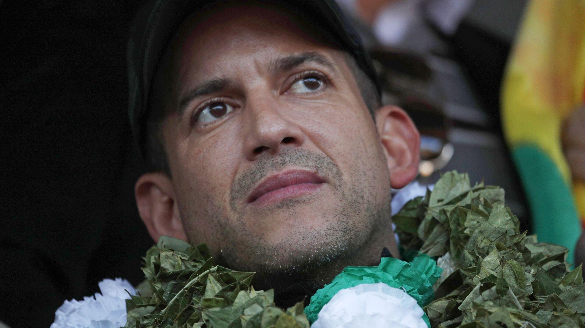 Luis Fernando Camacho, líder cívico boliviano - Sputnik Mundo, 1920, 11.03.2021