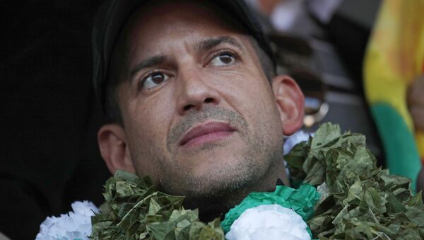 Luis Fernando Camacho, líder cívico boliviano - Sputnik Mundo