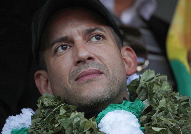 Luis Fernando Camacho, líder cívico boliviano