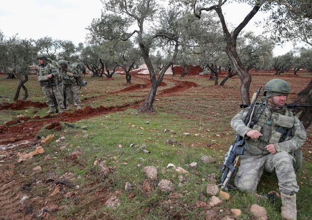 Militares turcos en Siria