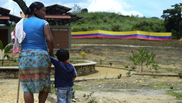 Indígenas colombianos del pueblo Senú - Sputnik Mundo