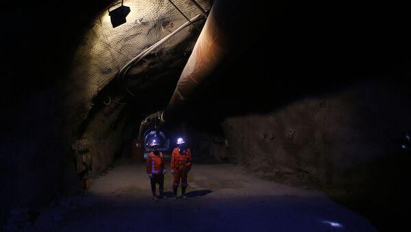Mina de cobre en Chile - Sputnik Mundo