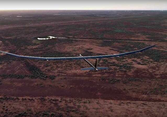 PHASA-35, el primer dron con energía solar realiza su primer vuelo