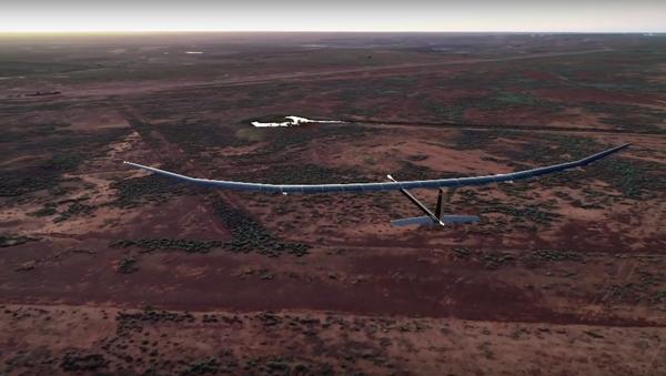 PHASA-35, el primer dron con energía solar realiza su primer vuelo - Sputnik Mundo