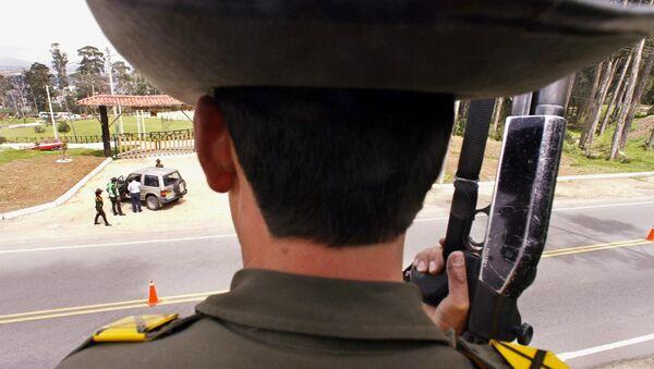 Un agente de la Policía Nacional de Colombia (imagen referencial) - Sputnik Mundo