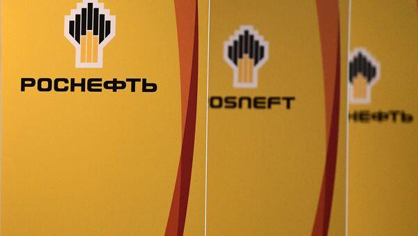 Logos de Rosneft - Sputnik Mundo