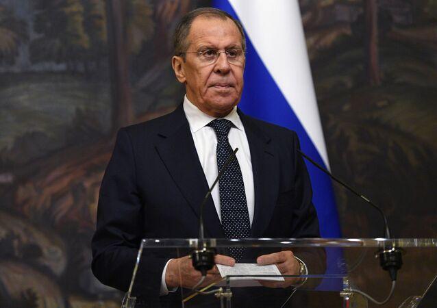 Serguéi Lavrov, canciller de la Federación de Rusia