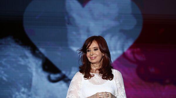 La vicepresidenta argentina Cristina Fernández de Kirchner - Sputnik Mundo
