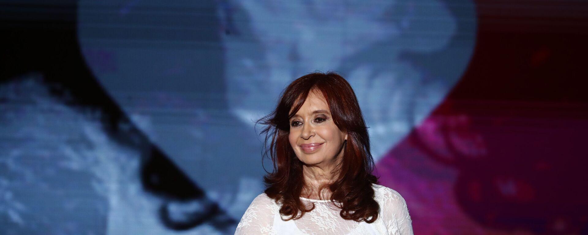 La vicepresidenta argentina Cristina Fernández de Kirchner - Sputnik Mundo, 1920, 09.09.2021