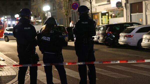 Lugar del tiroteo en Hanau - Sputnik Mundo