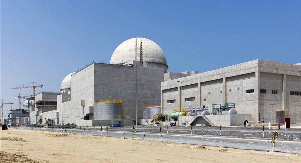 La contrucción de la central nuclear de Barakah (archivo)