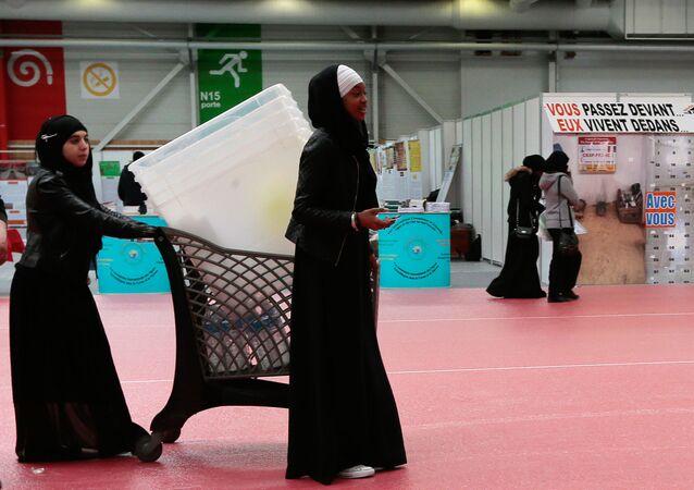 Mujeres musulmanas en Francia (imagen referencial)