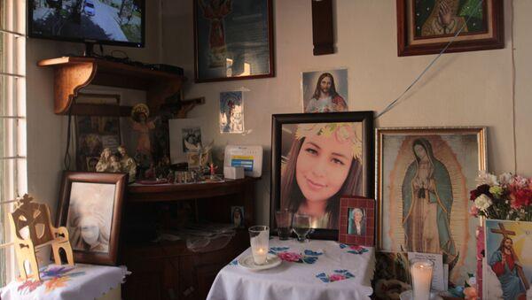 Verónica Guadalupe, víctima del feminicidio en México - Sputnik Mundo