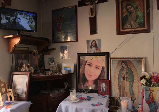 Verónica Guadalupe, víctima del feminicidio en México
