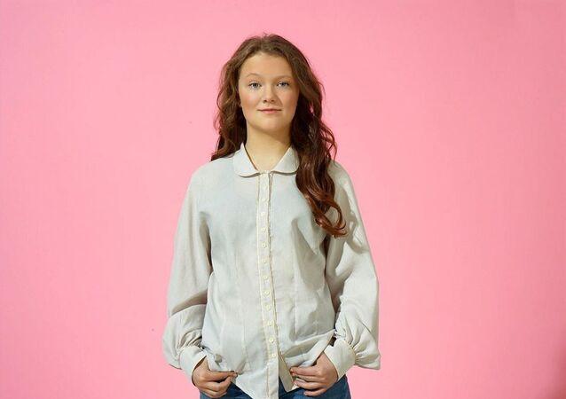 Beata Ernman, la hermana menor de la activista ambiental Greta Thunberg
