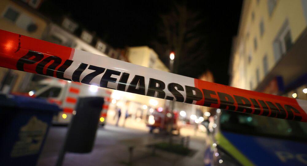 Lugar del tiroteo en Hanau