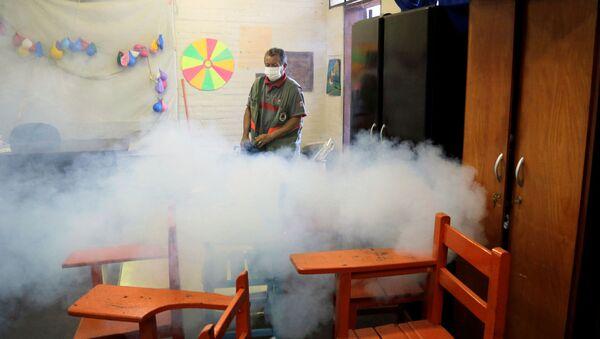 La epidemia de dengue en Paraguay - Sputnik Mundo