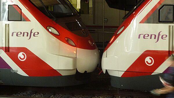 Trenes de Renfe - Sputnik Mundo