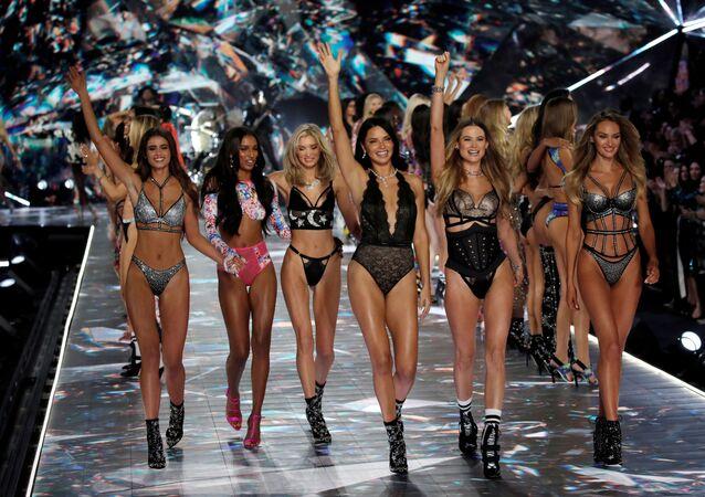 Un desfile de Victoria's Secret