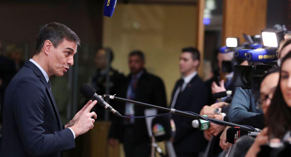 Pedro Sánchez, el presidente del Gobierno español