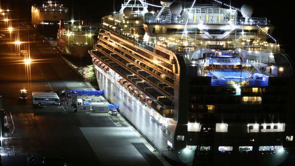 El crucero Diamond Princess - Sputnik Mundo