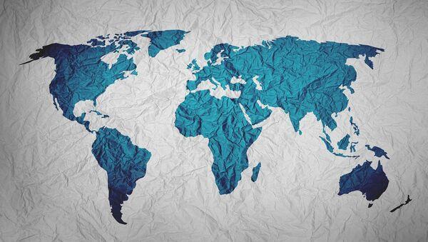 Mapa del mundo (imagen referencial) - Sputnik Mundo