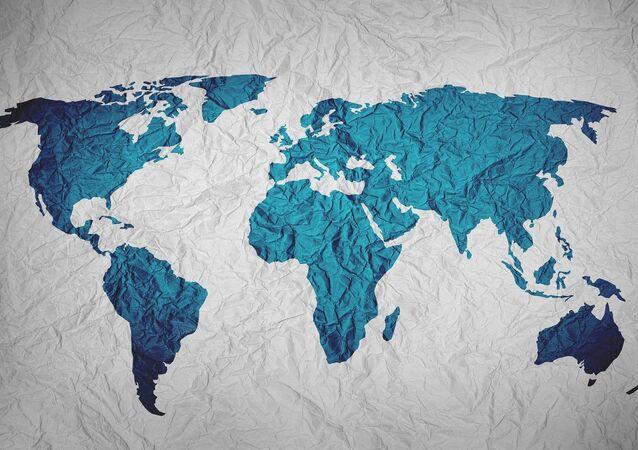 Mapa del mundo (imagen referencial)