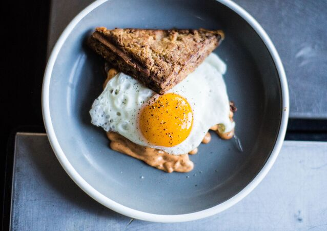 Huevo frito, imagen referencial
