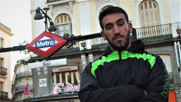 Adnan Al Llabili, ex mena de Marruecos acogido en Madrid - Sputnik Mundo
