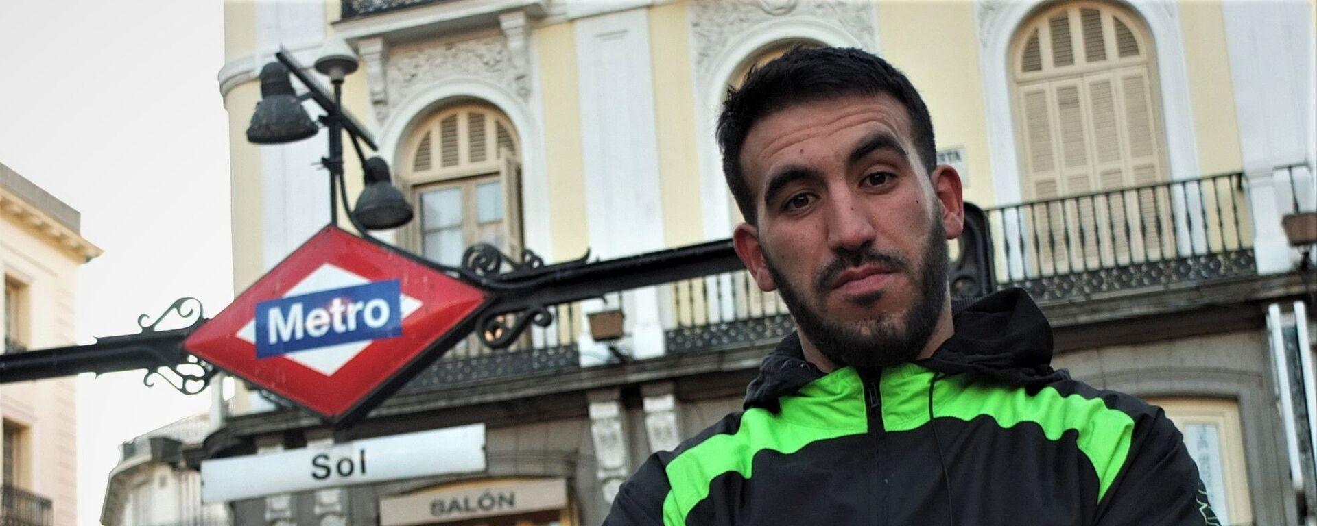 Adnan Al Llabili, ex mena de Marruecos acogido en Madrid - Sputnik Mundo, 1920, 21.02.2020