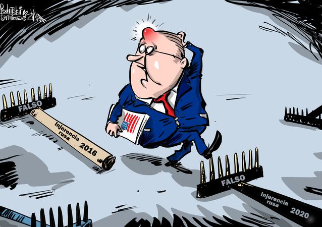 Disco rayado: culpan a Rusia de entrometerse en las elecciones de EEUU