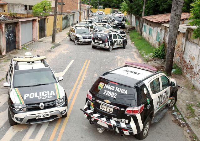 Huelga de policías en Brasil