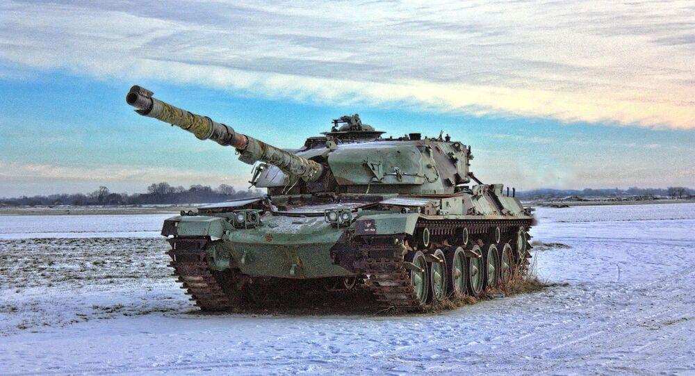 Un tanque (imagen referencial)