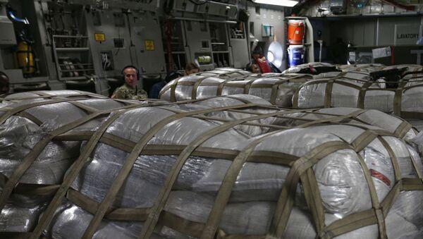 Ayuda humanitaria de EEUU a Venezuela - Sputnik Mundo