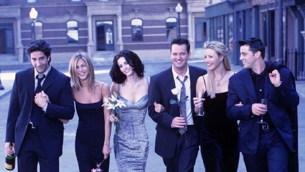 Los protagonistas de 'Friends', foto de archivo - Sputnik Mundo