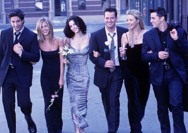 Los protagonistas de 'Friends', foto de archivo