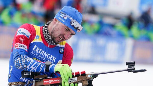 Alexandr Lóguinov, biatleta ruso - Sputnik Mundo