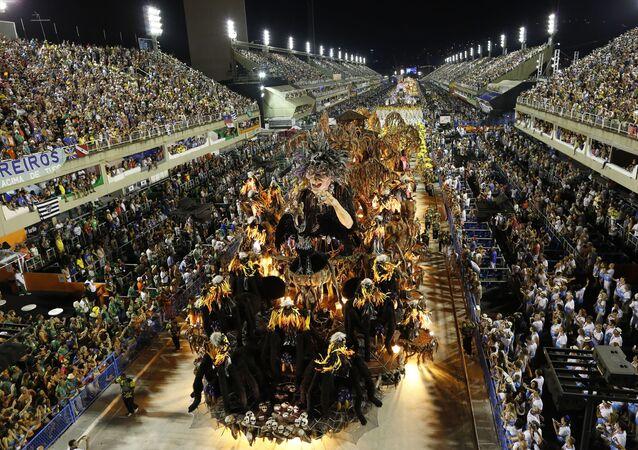 El desfile de Sao Clemente en Brasil (archivo)