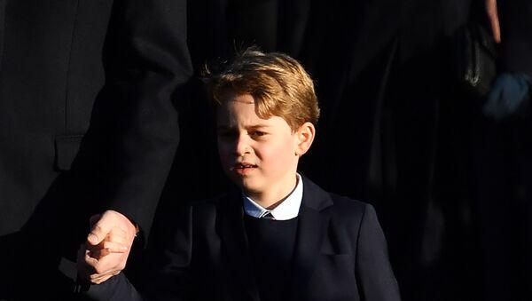 El príncipe George de Cambridge - Sputnik Mundo