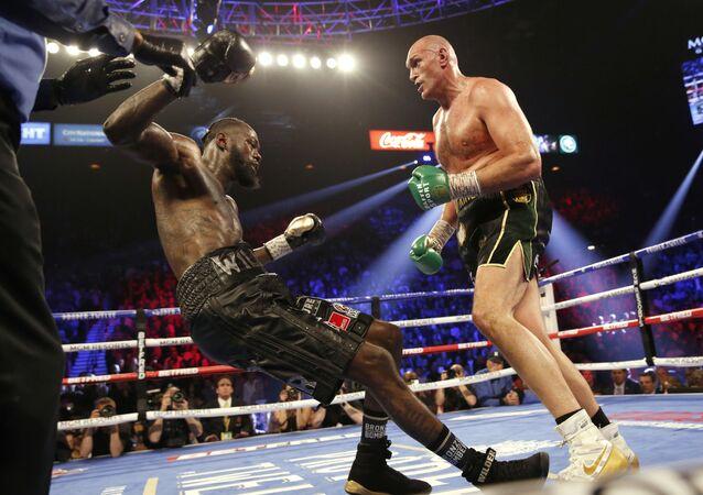 La pelea por el cinturón del WBC en pesados entre Tyson Fury y Deontay Wilder