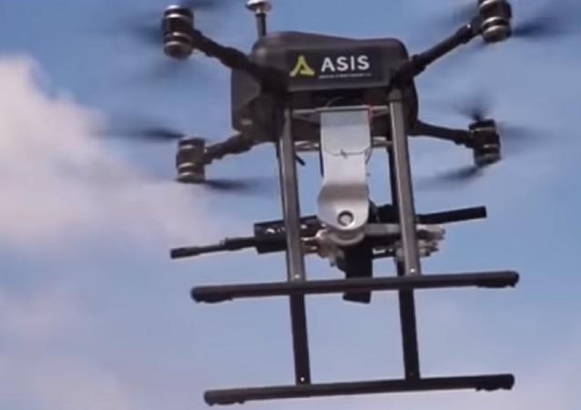 El dron Songar, desarrollado por la empresa turca Asisguard