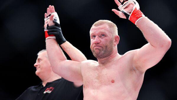 Serguéi Jaritónov, luchador ruso de artes marciales mixtas   - Sputnik Mundo