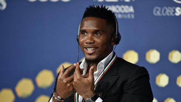 El futbolista Samuel Eto'o - Sputnik Mundo