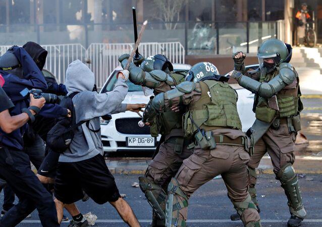 Protestas en Viña del Mar, Chile